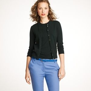 J CREW jackie cardigan sweater black S